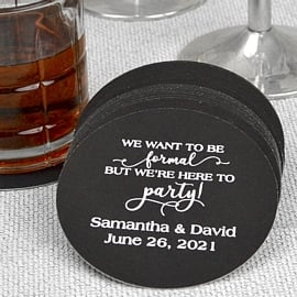 Coaster Favors