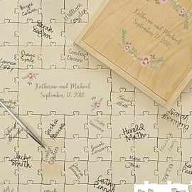 Wedding guest books and guest book alternatives