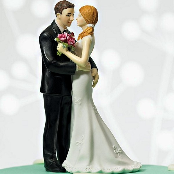 Main Squeeze Cheeky Figurine Cake Topper - Front View