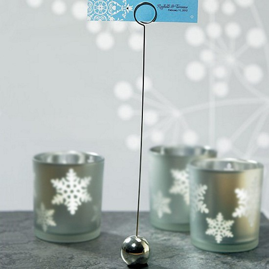 9 Inch Silver Table Number Holder