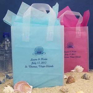 Personalized wedding welcome bags for destination wedding