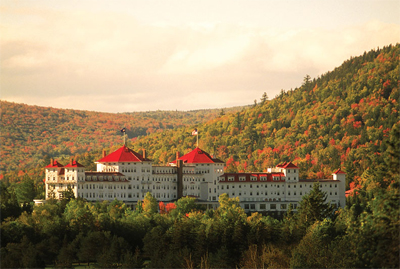Omni Mount Washington Resort in Bretton Woods, New Hampshire
