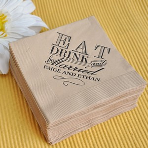 Lets Be Honest Napkins Probably Arent At The Top Of Your Wedding Planning List But When It Comes Down To They Are Not Something You Want Forget