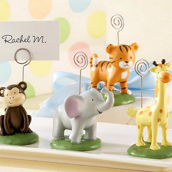 Jungle Animals Place Card Holders