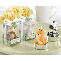 Jungle Animals Candle Favors - Set of 4