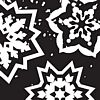 Flakes Invitation Background Pattern