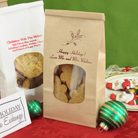 Personalized Christmas Goodie and Treat Bags