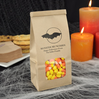 Personalized Halloween treat and goodie bags
