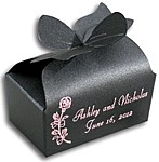 Onyx black stardream bow box