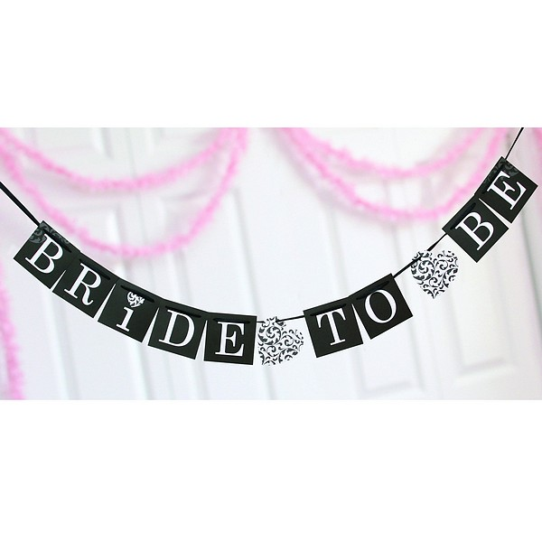 Bride To Be Bridal Shower Banner