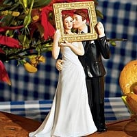 'Picture Perfect' Couple Cake Topper