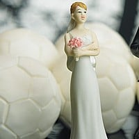 The Exasperated Bride Cake Topper