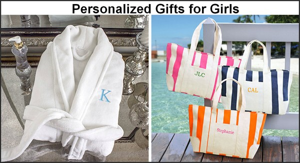 Personalized Christmas gifts for girls