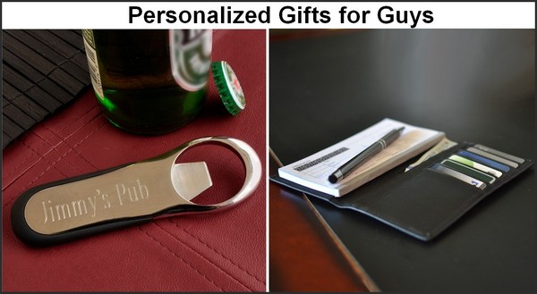 Personalized Christmas gifts for guys