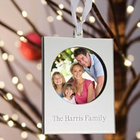 Personalized keepsake Christmas tree ornaments