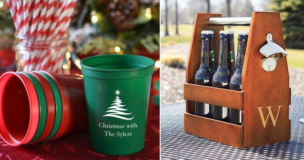 Personalized Christmas party decorations and gifts