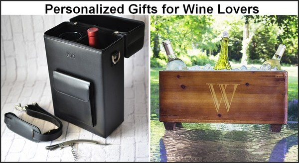 Personalized Christmas gifts for wine lovers
