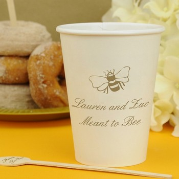 Personalized Insulated Wedding Coffee Cups