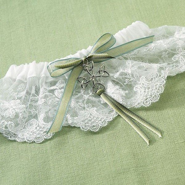 Celtic Charm Irish Bridal Garter