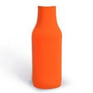 Orange bottle koozie color