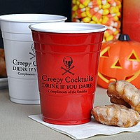 Personalized Halloween Party Cups