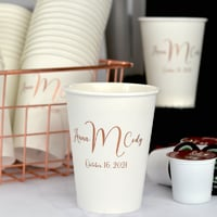Personalized Paper Coffee Cups