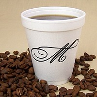 Personalized Styrofoam Coffee Cups