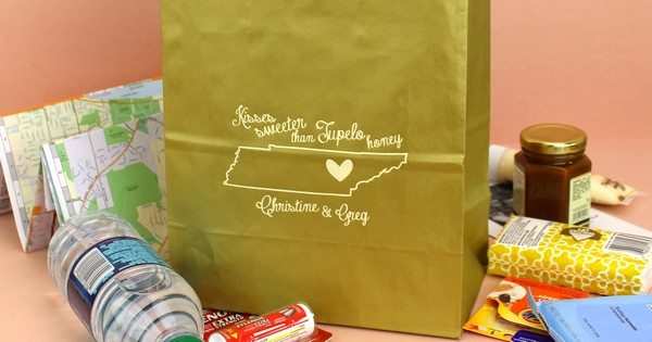 Gift Ideas For Wedding Guests At Hotel: State By State Souvenir Ideas For Wedding Welcome Gift Bags