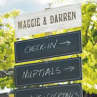 Personalized Wooden Multi-Purpose Sign Boards