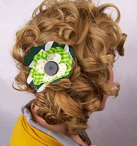 Shamrock Hair Fascinator