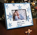 Personalized Snowflakes Picture Frame