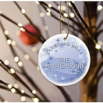 Snowday Personalized Christmas Ornament