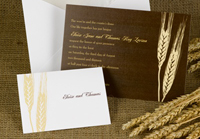 Bountiful Harvest invitations from Invitations by Dawn
