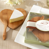 Heart shaped cheese board