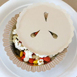 DIY Pie Shaped snack boxes