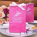 Personalized bridal shower paper party favor bags