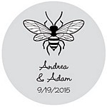 Bee Favor Tag Design