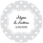 Sweethearts Favor Tag Design