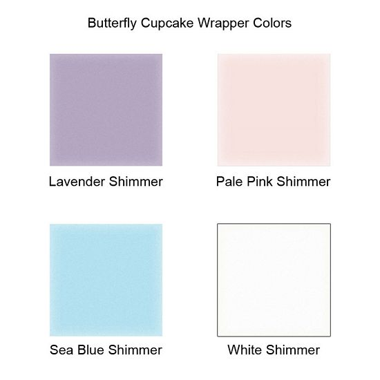 Cupcake liner color options