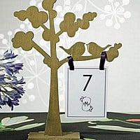 Wooden Love-Birds Tree Stand