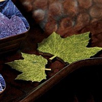 Wooden Die-Cut Maple Tree Leaves