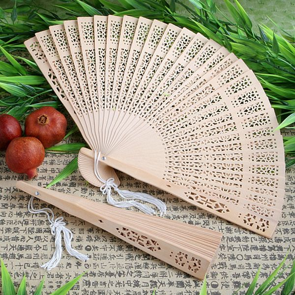 Sweet Scented Sandalwood Personal Fan Favors