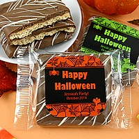 Personalized Halloween Treats and Candy Wrappers