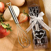 Kitchen utensils and trinkets wedding favors