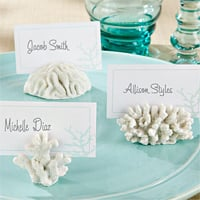 Seven Seas Coral Place Card Photo Holders