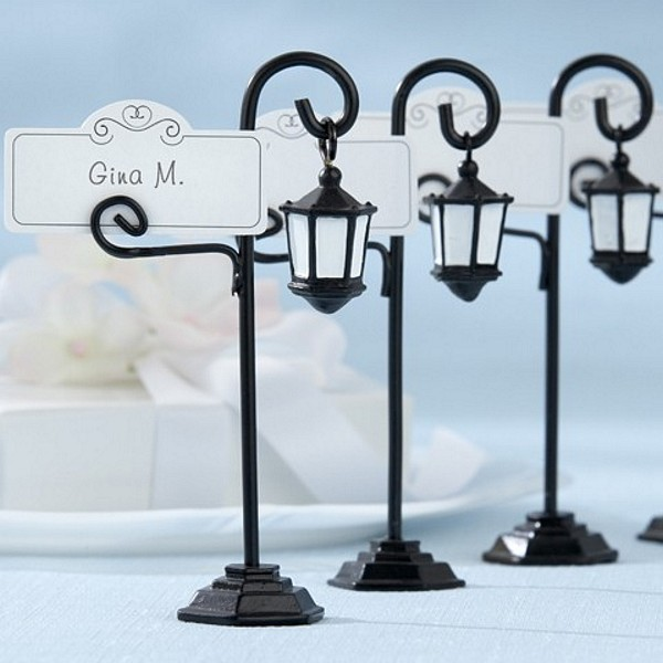 Bourbon Street Streetlight Place Card Holders