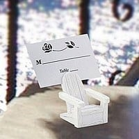 Adirondack Chair Placecard Wedding Favors