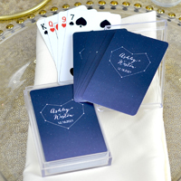 Personalized Starry Night Playing Cards