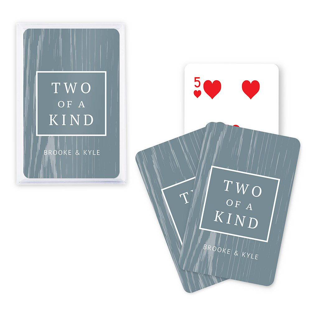 Two of a Kind Custom Playing Cards