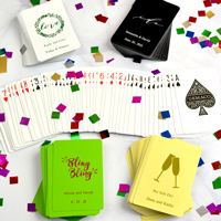 Custom printed playing cards decks
